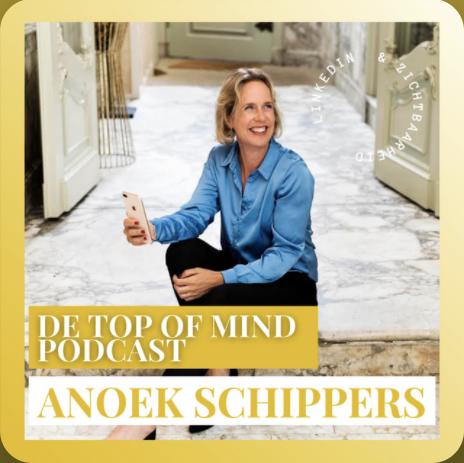 de top of mind podcast anoek schippers
